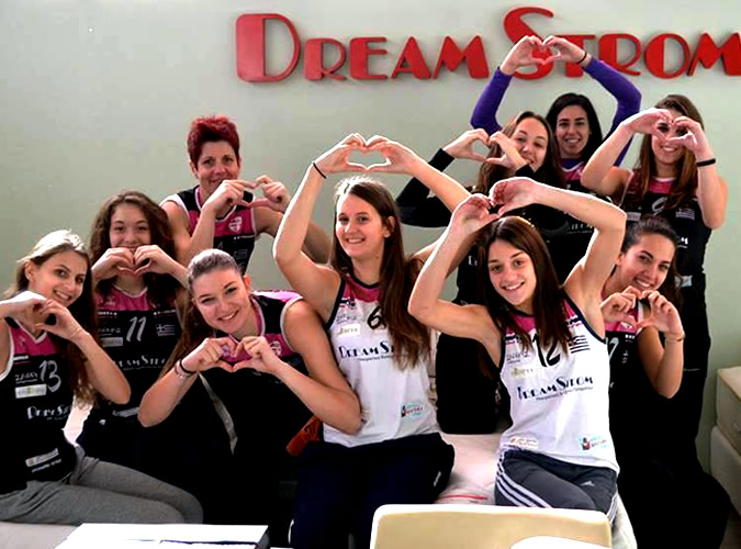 Επίσκεψη ομάδας volley ΓΙΑΝΝΕΝΑ Α.Σ στα γραφεία της DreamStrom